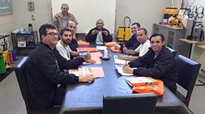 Empresa de Jundiaí veio à Guarany para atualização técnica