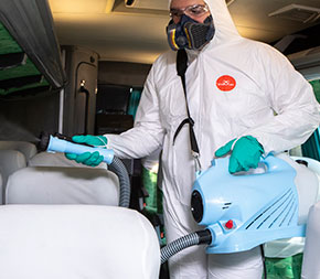 Disinfection of public and residential environments is essential to prevent the spread of the coronavirus